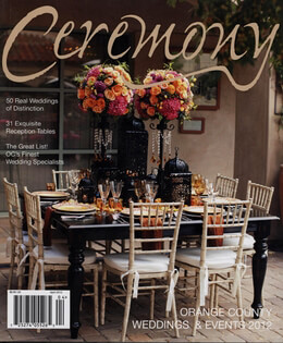 Ceremony Magazine Orange County 2012 Weddings & Events