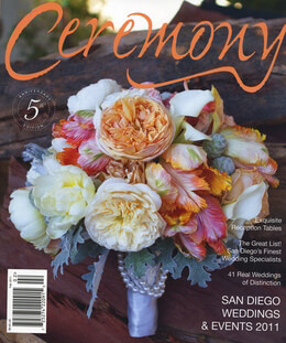 Ceremony Magazine San Diego Weddings & Events 2011
