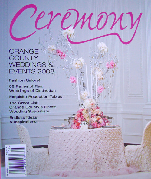 Ceremony Magazines Orange County 2008