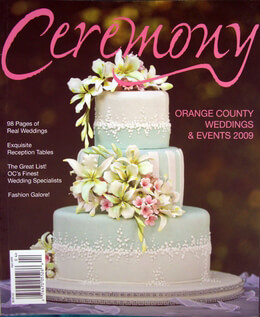 Ceremony Magazines Orange County 2009