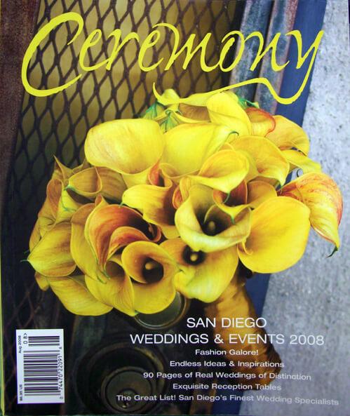Ceremony Magazines San Diego 2008