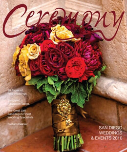 Ceremony Magazines San Diego 2010