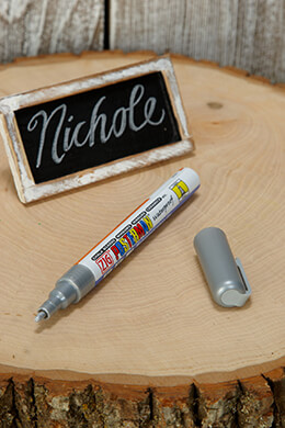 Chalk Marker Silver 1.0mm