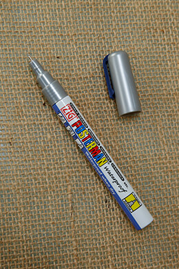 Chalk Marker Silver 0.5mm