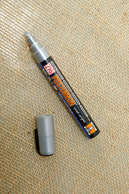 Chalk Marker Metallic Silver 6mm