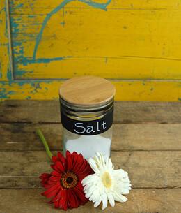 Chalkboard Cylinder Vase 5in