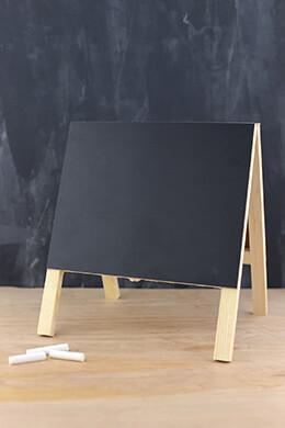 Chalkboard & Whiteboard Easel 10.5x9.75