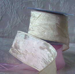 Satin Ribbon Champagne 27ft