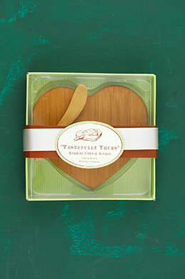 Tastefully Yours Bamboo Cheese Board