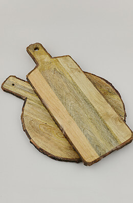 Cheese Board Wood (Set of 2)
