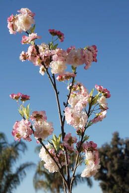 "Artificial 45"" Cherry Blossom Branches"