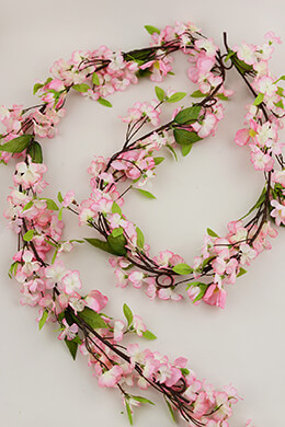 Cherry Blossom Garland Pink 6ft