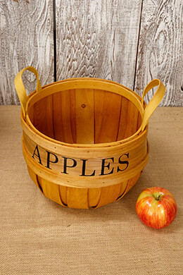 Chipwood Apple Basket Small