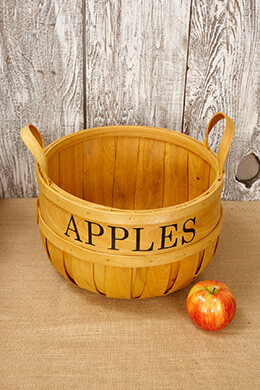 "12"" Chipwood Apple Baskets"