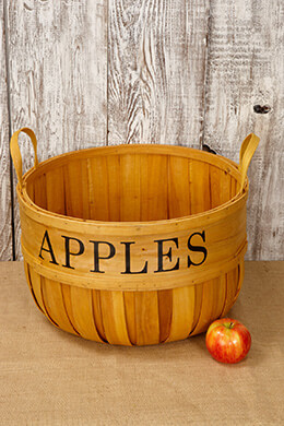 Chipwood Apple Basket Extra Large