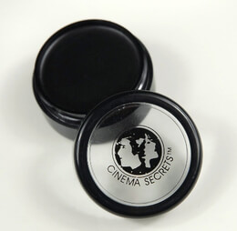Cinema Secrets Professional Face Makeup Black 1/4 oz