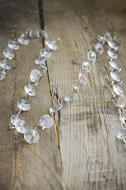 Crystal Garland Clear 6ft