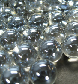 Clear Glass Marbles 1/4"