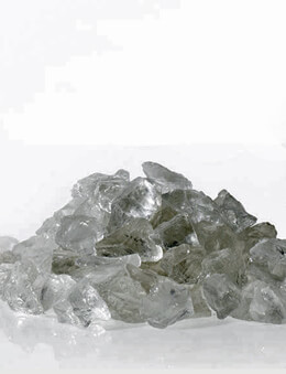 Glass Chunks 3-5cm, 92 oz Clear