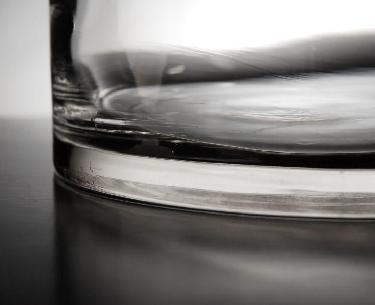 Glass Cylinder Vases 9 x 10