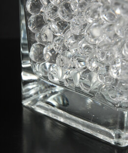 Water Pearls Clear Jumbo Size (5.2oz) Vase Filler