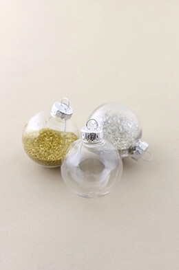 Clear Plastic Ornament Balls 2-3/8in (Pack of 90)