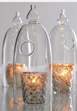 Pippa Glass Candle Cloche