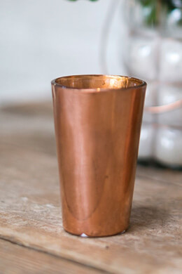 Copper Vase 2.5x4in