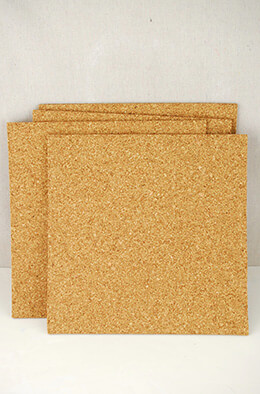 Cork Tile 12x12in 5mm (Pack of 4)