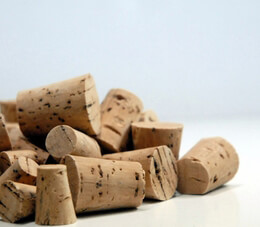 Corks Assorted Sizes #0, #2, #4, #6 (Pack of 16)