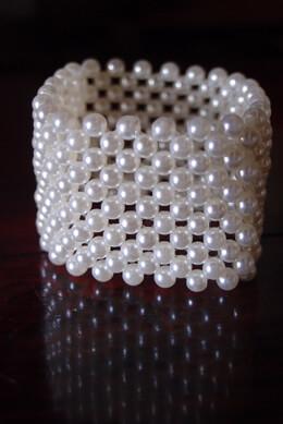 Pearl Corsage Bracelet