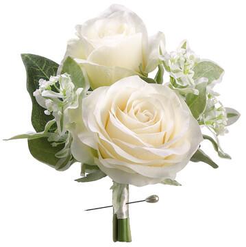stephanotis corsage cream green, Beautiful flower