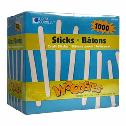 Popsicle Sticks (Pack of 1000)