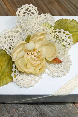 "12 Pineapple Crochet Doilies 4"" Size"