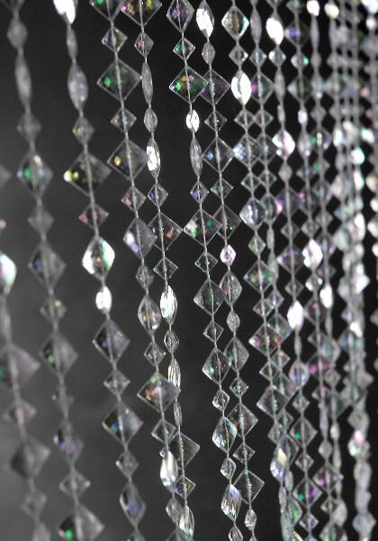 Crystal Beaded Curtains 6ft