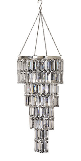Crystal Chandelier 8x17