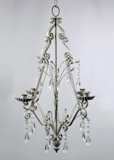 Paris Flea Market Crystal Chandelier 23