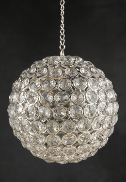 Crystal Diamond Hanging 5-3/4 in. Ball