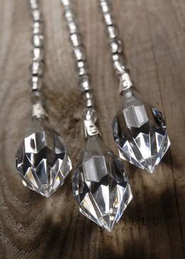 Crystal Drop Hangers (3 pieces/ pkg ) 10.5in