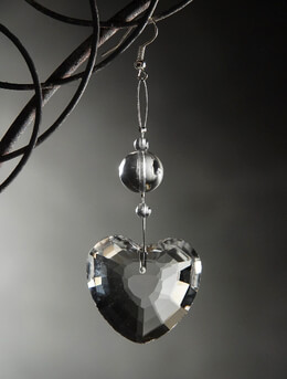 Heart Crystal Ornament