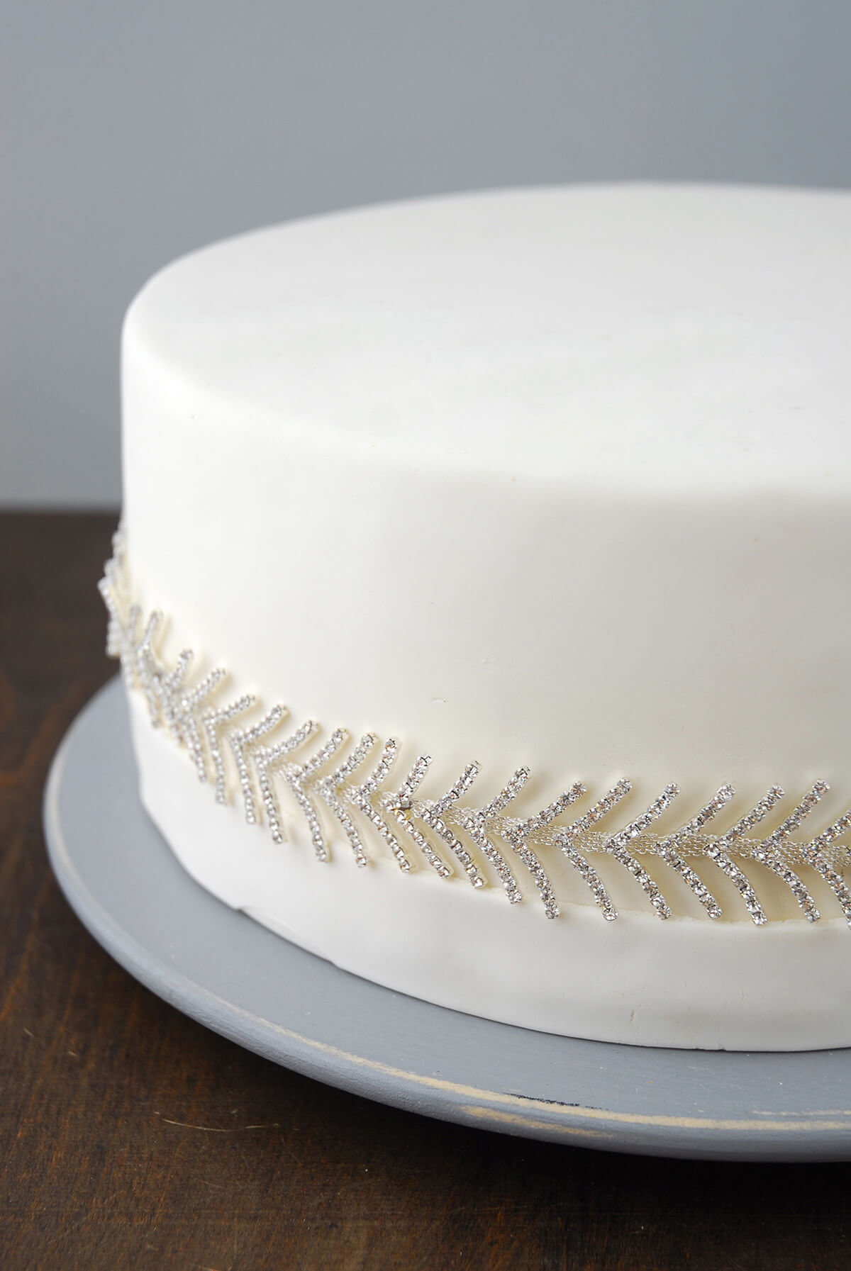 Crystal Trim Feathered