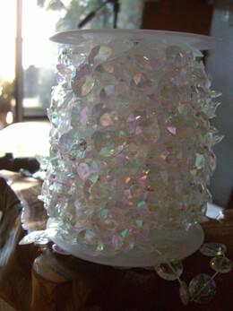 Crystals Garlands 66 Feet Iridescent