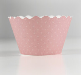 Cupcake Couture Cupcake Wrappers Soft Pink