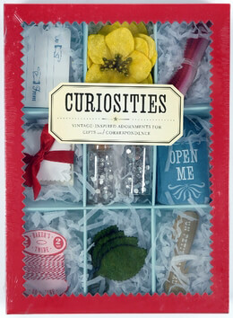 Curiosities : Vintage-Inspired Adornments, Tags, leaves, stickers, ribbon