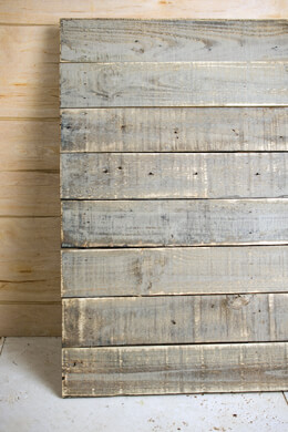 24in Square Painted Wood Pallet Panel