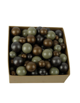 Decorative Glass Marbles Brown 2.4lbs