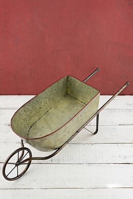 Decorative Wheelbarrow 24.5in