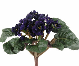 Deep Purple Eggplant Artificial Violet Plant