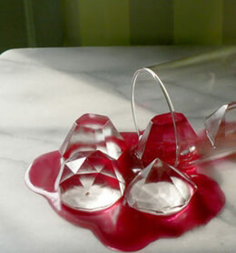Diamond Ice Cubes Tray Cool Jewels