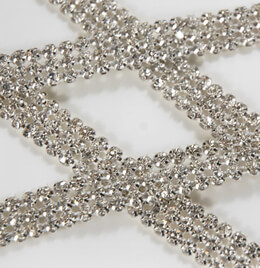 Diamond Ribbon Trim 1/2in wide x 3 yards
